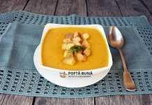 Supa crema de dovleac, reteta simpla, clasica, rapida