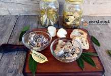 Conserva de peste in ulei picant sau cu usturoi