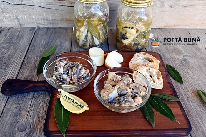 Conserva de peste in ulei picant sau cu usturoi reteta - Conserva de peste in ulei picant sau cu usturoi