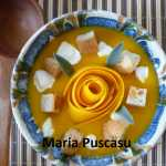 Maria Puscasu Supa crema de dovleac 150x150 - Supa crema de dovleac, reteta simpla