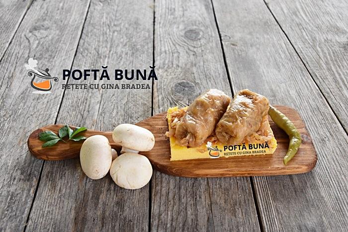 Sarmale de post cu ciuperci orez si varza reteta traditionala - Sarmale de post cu ciuperci si varza, reteta traditionala moldoveneasca