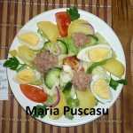 Maria Puscasu Salata Nicoise 150x150 - Gatim gustos cu Gina Bradea, concurs decembrie 2017
