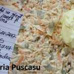Maria Puscasu Salata cu piept de pui iaurt și țelină 150x150 - Gatim gustos cu Gina Bradea, concurs decembrie 2017