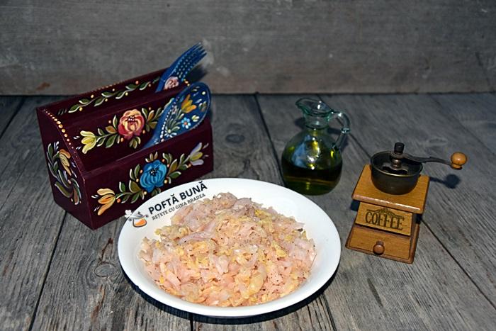 Salata de varza murata cu ulei piper sau boia - Salata de varza murata cu ulei, piper sau boia, reteta simpla