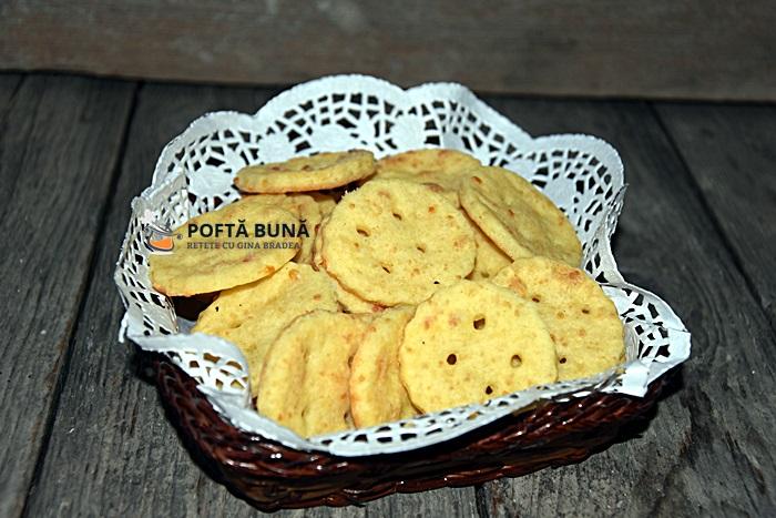 Biscuiti aperitiv cu unt si branza reteta simpla - Biscuiti aperitiv cu unt si branza