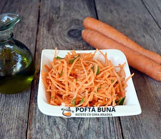 Salata de morcov cu patrunjel