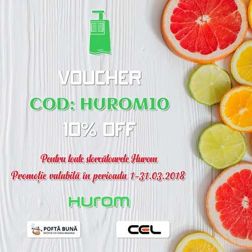 Cod voucher HUROM10