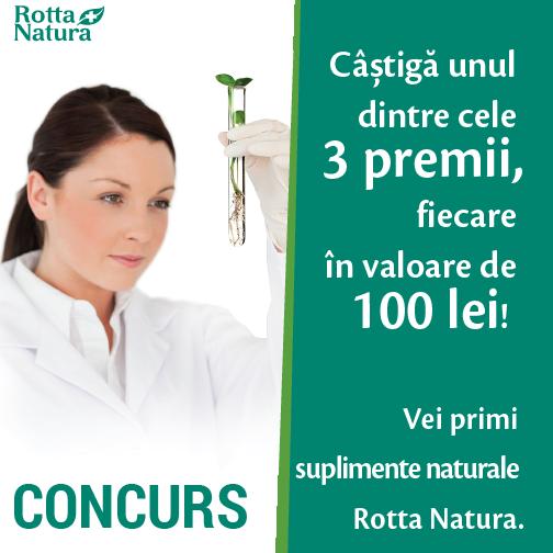 RN concurs FB 3x100 - Concurs superb cu 3 premii de la Rotta Natura