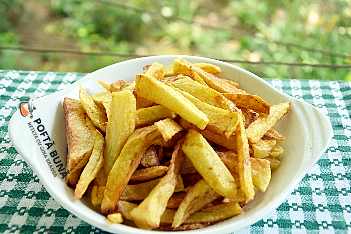 Cum se fac cartofii prajiti cea mai simpla reteta gina bradea - Cum se fac cei mai gustosi cartofi prajiti, toate secretele