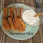 Sticksuri din dovlecei Florentina Flory 150x150 - Sticksuri din dovlecei cu parmezan la cuptor, reteta simpla
