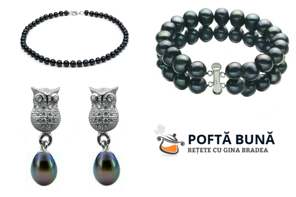Concurs: bijuterii cu perle negre, pentru femei intelepte si de succes