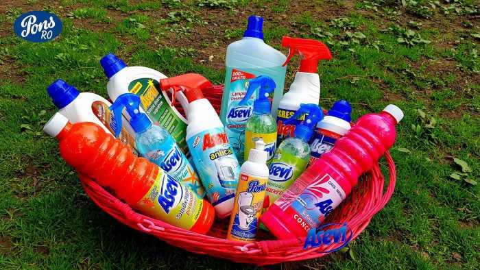 cos produse Asevi e1525876987759 - Concurs de mai cu produse de curatenie de la Pons-Asevi