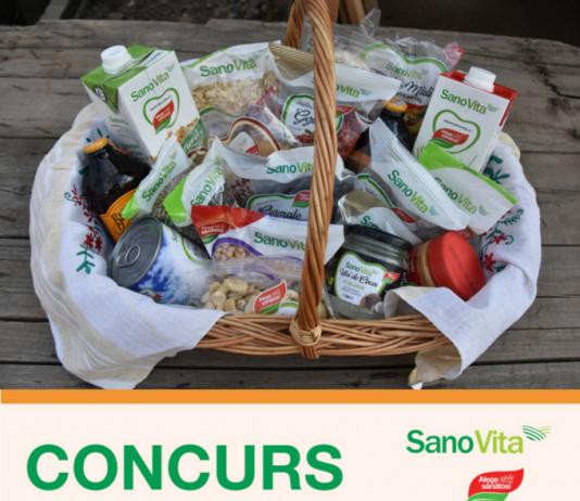 Concurs de iulie cu Sano Vita