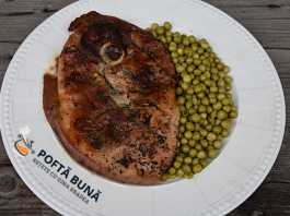 Pulpa de porc la cuptor, reteta simpla, clasica