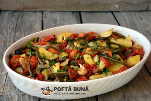 Ghiveci 500x334 - Tocana de legume reteta de ghiveci cu orez
