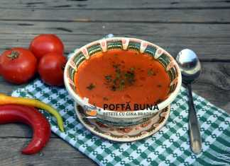 Supa de rosii cu orez