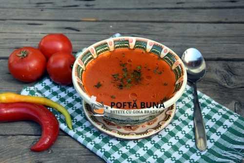 Supa de rosii cu orez 500x334 - Supa de rosii cu orez, reteta simpla