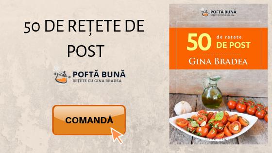 Carte 50 de retete de post Gina Bradea