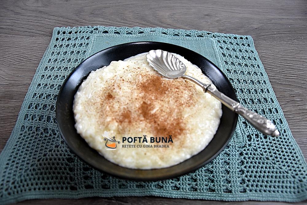Reteta de orez cu lapte cremos si aromat, reteta copilariei