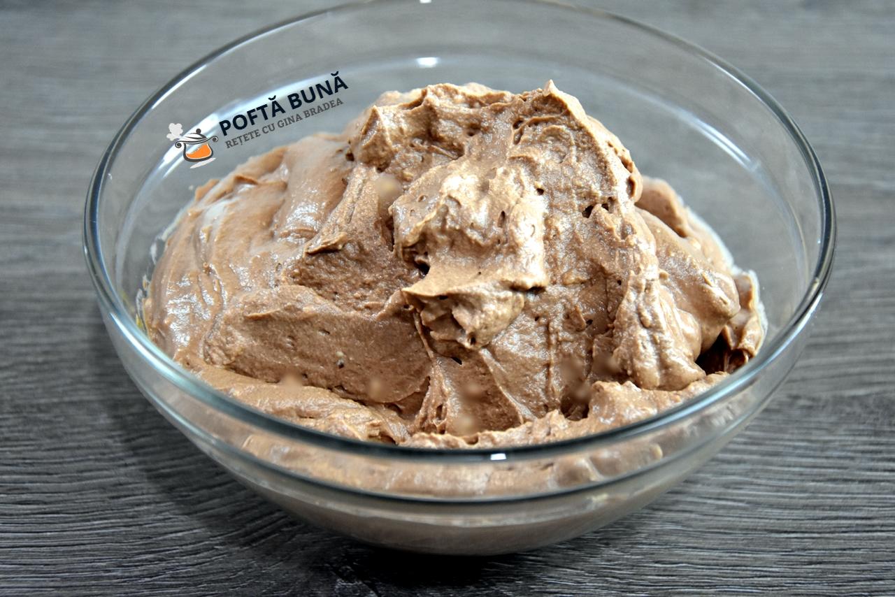 Crema de ciocolata cu frisca si mascarpone