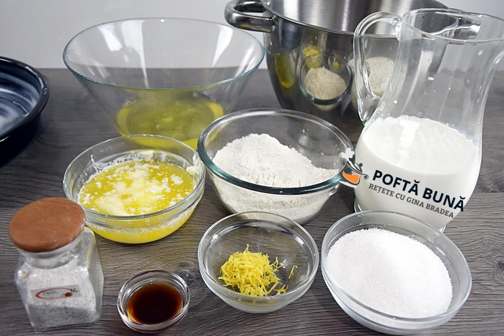 Prajitura desteapta sau inteligenta, cu vanilie si lamaie