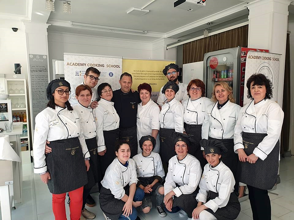 Chef Georgeo Andrei si Academy cooking school de la Timisoara