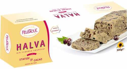 halva stafide 500x273 - Tort, cheesecake cu halva, fara coacere, reteta simpla si rapida