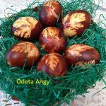oua vopsite natural cu coji de ceapa 150x150 - Cum se vopsesc ouale natural cu coji de ceapa si sfecla