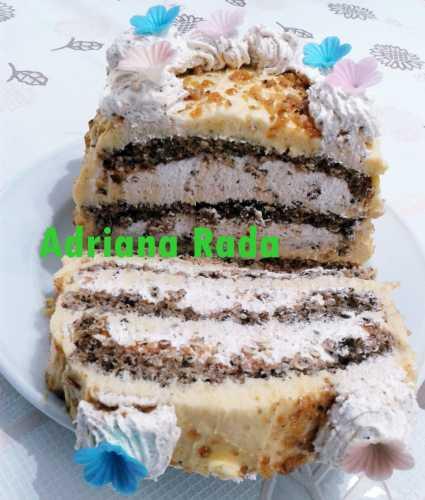 Tort egiptean, reteta simpla