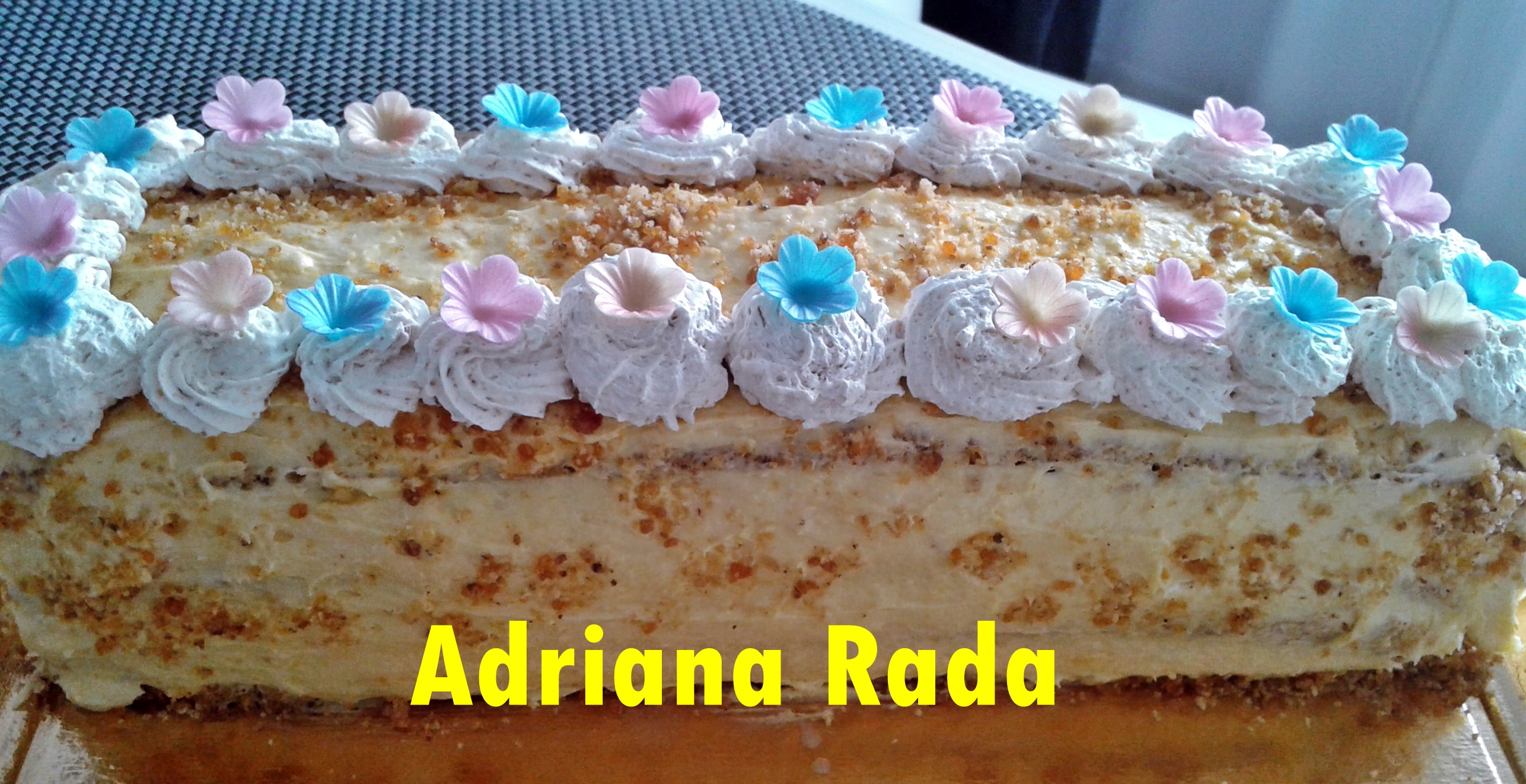 tort egiptean adriana rada reteta simpla - Tort egiptean cu nuca si vanilie, reteta simpla