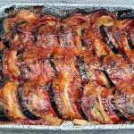 Chiftele de pui cu vinete, rosii si cartofi, o reteta de musaca altfel