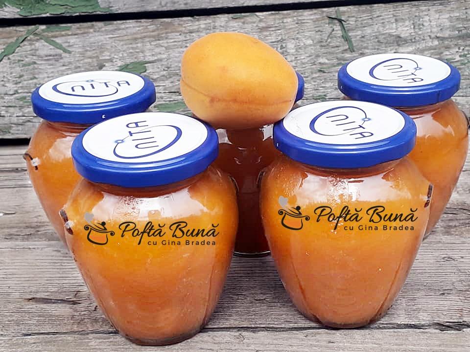 Gem sau marmelada de caise reteta rapida naturala fara gelifianti chimici2 - Marmelada de caise reteta naturala