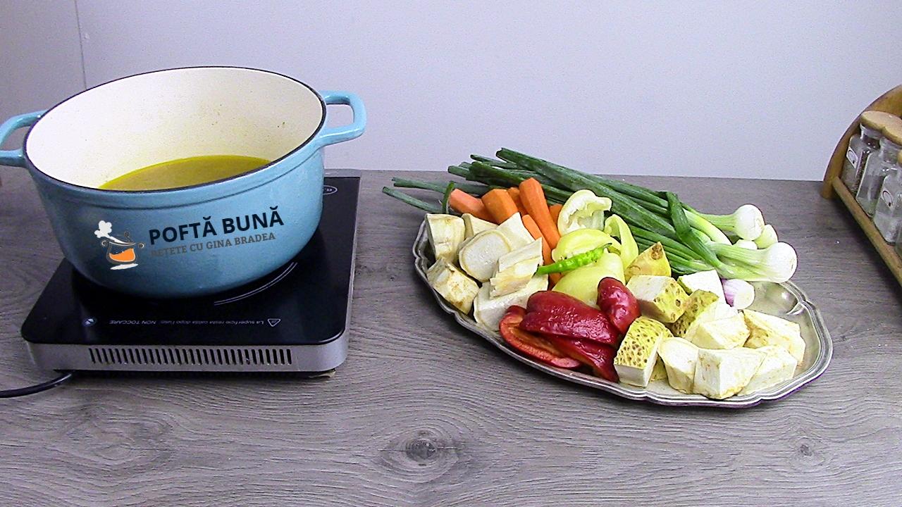 Reteta de concentrat de legume cu gaina pentru iarna - Concentrat natural de legume cu gaina pentru iarna