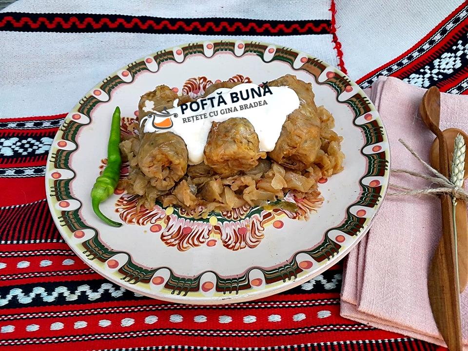 Sarmale din carne de porc cu pasat si varza murata, reteta traditionala
