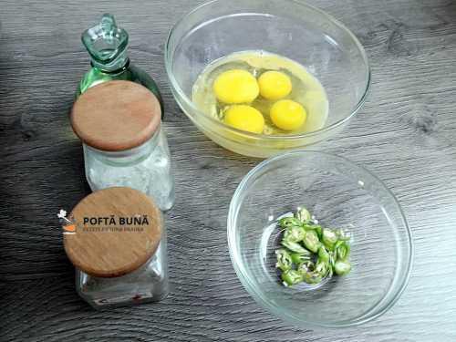 Cum se face omleta picanta, reteta rapida