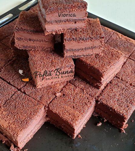 Amandine cu ciocolata reteta veche de cofetarie 4 1 446x500 - Amandine cu ciocolata, reteta veche de cofetarie
