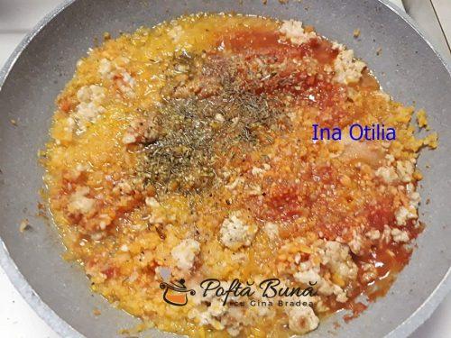Dovleac umplut cu ciuperci galbiori la cuptor reteta austriaca 4 500x375 - Dovleac umplut cu ciuperci si carne tocata, la cuptor, reteta austriaca