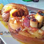 Ciolan feliat de porc cu usturoi si ceapa, la cuptor