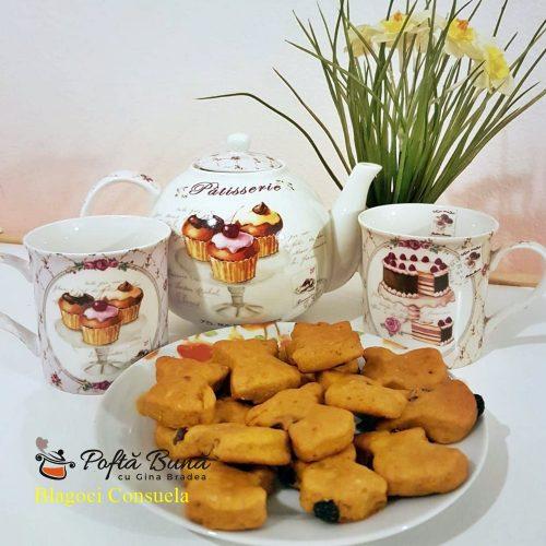 biscuiti fragezi cu dovleac reteta simpla5 500x500 - Biscuiti fragezi cu dovleac si zahar brun