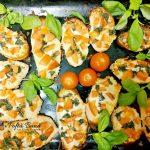 bruschette cu usturoi mozzarella si busuioc 3 150x150 - Bruschette cu rosii, usturoi, mozzarella si busuioc
