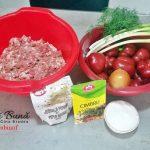 chiftele in sos de ardei reteta simpla pas cu pas 150x150 - Chiftele la cuptor in sos de ardei cu garnitura de cartofi natur sau piure