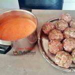 chiftele in sos de ardei reteta simpla pas cu pas4 150x150 - Chiftele la cuptor in sos de ardei cu garnitura de cartofi natur sau piure