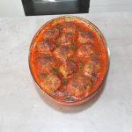chiftele in sos de ardei reteta simpla pas cu pas7 150x150 - Chiftele la cuptor in sos de ardei cu garnitura de cartofi natur sau piure