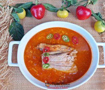 Halaszle, supa ungurească de peste