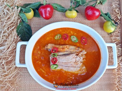 Halaszle, supa ungurească de peste, reteta traditionala