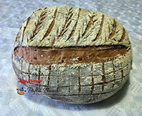 paine de casa 2 500x408 - Paine de casa pufoasa, reteta simpla pas cu pas