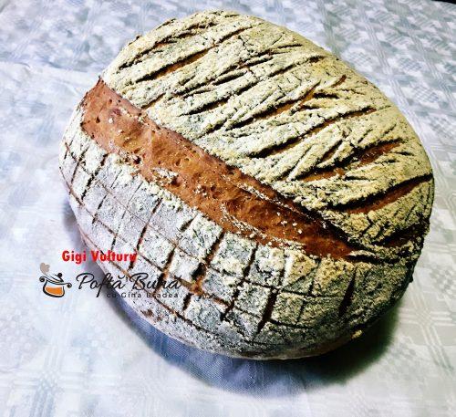 paine de casa 6 500x457 - Paine de casa pufoasa, reteta simpla pas cu pas