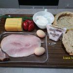 paine umpluta cu sunca si cascaval2 150x150 - Paine umpluta cu cascaval, sunca si carnati