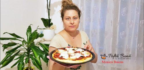 pizza facuta acasa reteta simpla gustoasa 2 500x243 - Pizza de casa moale si pufoasa, reteta rapida