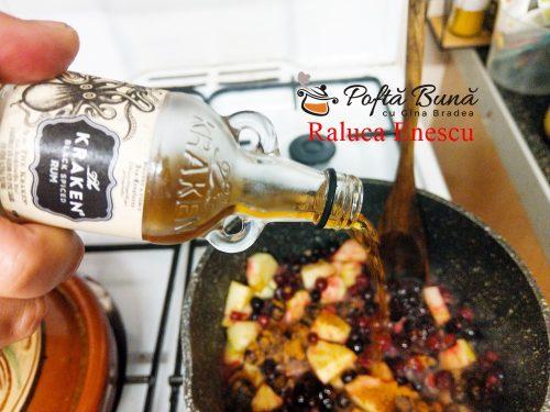 prajitura crumble cu fructe si crema de vanilie reteta pas cu pas1 500x375 - Prajitura crumble cu fructe si crema de vanilie